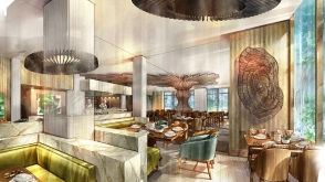 The Westin at The Woodlands | Restaurant Rendering